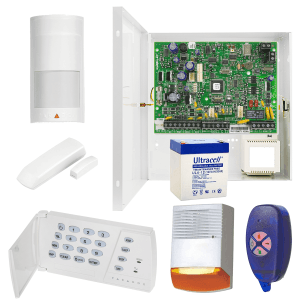 Sistem complet antiefractie Magellan, wireless, 2 senzori de miscare, contact magnetic KMG-HOME-2WC