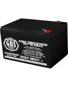 Acumulator stationar 12V 12,05Ah F1 AGM VRLA GBS GBS121205