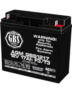 Acumulator stationar 12V 17Ah F3 AGM VRLA GBS GBS1217