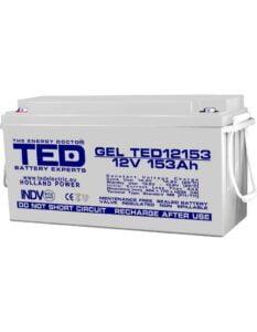 Acumulator stationar VRLA 12V 153Ah GEL M8 F12 TED Electric TED12153 150A