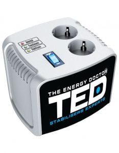 Stabilizator retea maxim 1000VA-AVR TED1000 Profesional TED Electric
