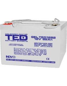 Acumulator stationar VRLA 12V 82Ah GEL M6 TED Electric TED1282